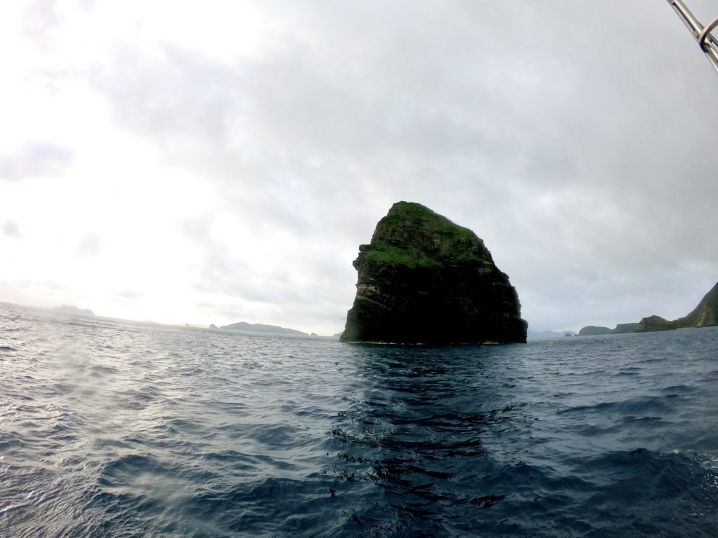 慶良間諸島の海