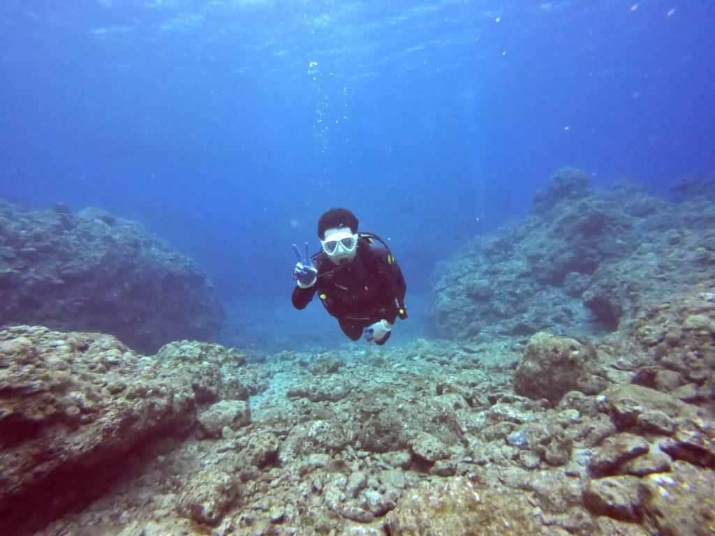 慶良間諸島で体験ダイビング